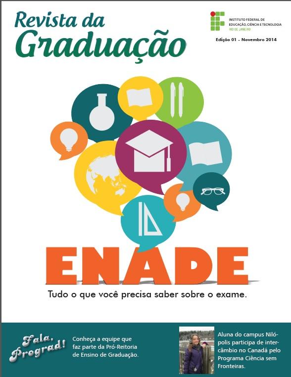 Capa da 1ª Edição da Revista Graduação