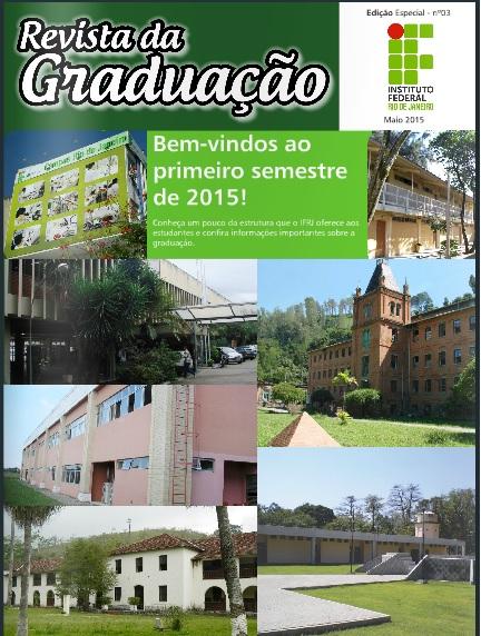 Capa da 3ª Edição da Revista Graduação