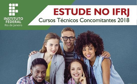 divulgação Cursos Técnicos Concomitantes/Subsequentes 2018.1