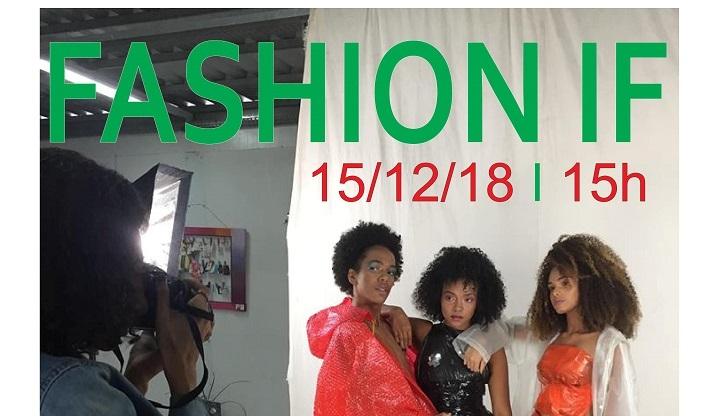 escrita em verde e vermelho, foto de modelos negras posando para fotografo
